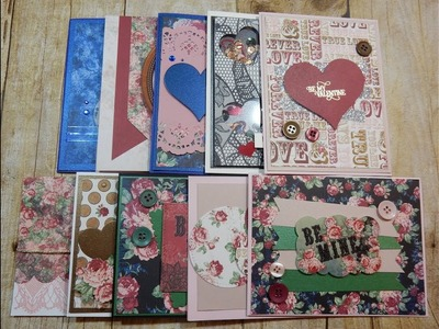 10 Cards 1 Kit | Love from Lizi Specialty Kit | Vintage Lace | January 2018