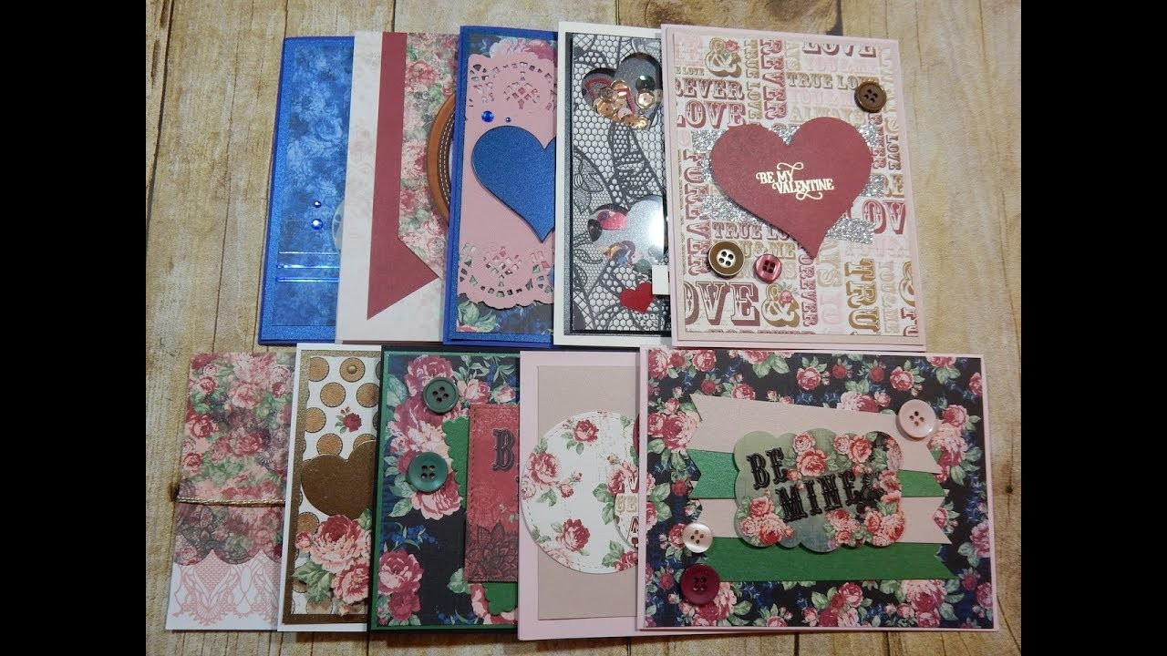 10 Cards 1 Kit   Love from Lizi Specialty Kit   Vintage Lace   January 2018