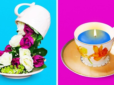 20 BEAUTIFUL DIY IDEAS FOR YOUR CUPS AND MUGS