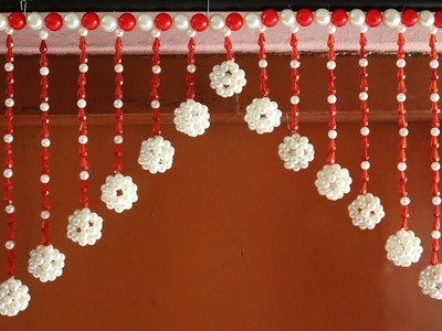 Amazing! Craft Ideas    How to make wall hangings at home   Toran making ideas - DIY for home
