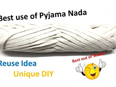 Amazing Idea out of Pajama Nada |Easy and Super cool DIY | Best use of Waste