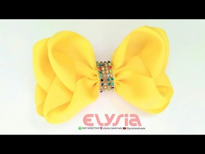 Blink blink Ribbon Bow Tutorial | DIY by Elysia Handmade