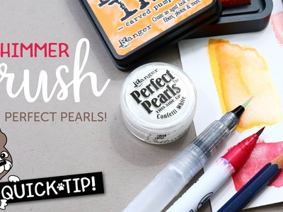 Card Making and Papercrafting How To: DIY Shimmer Brush with Perfect Pearls
