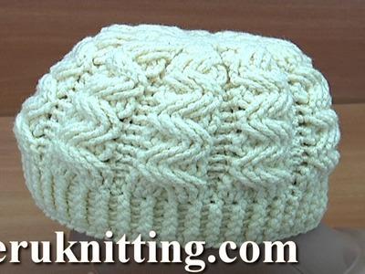 Crochet Aran Hat Tutorial 246