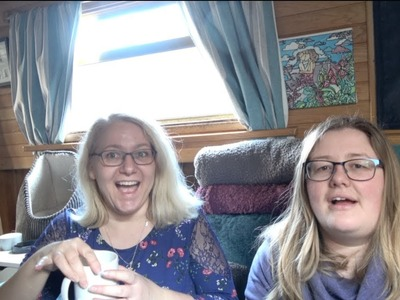 Day on the narrowboat | Getting ready for a craft fayre