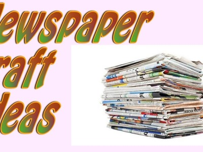 DIY |2 storage ideas with Newspaper |Best out of waste|Newspaper craft ideas