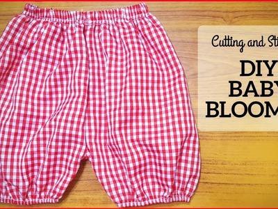 DIY Baby Bloomer Cutting and Stitching in Hindi.Urdu