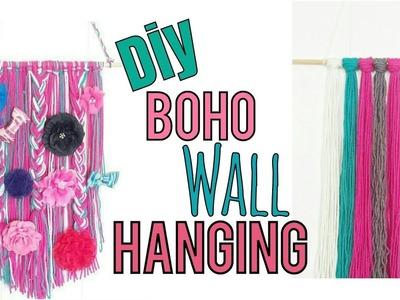 DIY BOHO WALL HANGING | BOW HOLDER