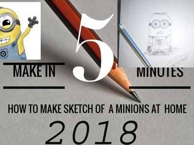 (DIY) ||HOW TO MAKE MINIONS AT HOME IN 5 MINUTES Latest 2018||DS CREATION