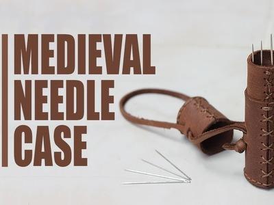 DIY   Leather Medieval Needle Case (Etui)