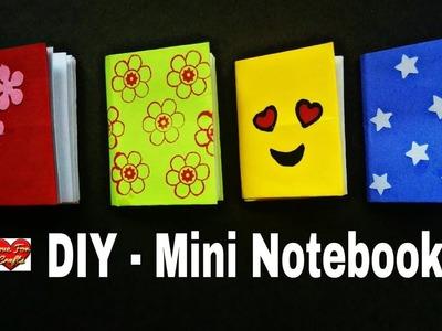 DIY Mini Notebooks | How to Make Mini Notebook | DIY Back to School