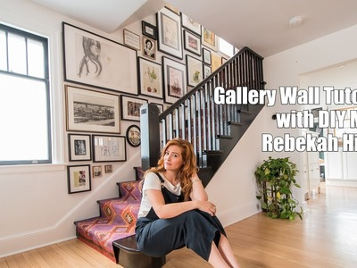 DIY MOM Tutorials: Easy Gallery Wall How To