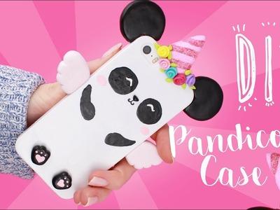 DIY PANDICORN Phone Case! - Kawaii CLAY DIY!