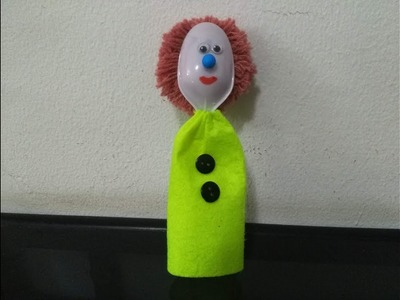 DIY Recycling Ideas - How to Make a Funny Doll out of Plastic Spoons + Tutorial !