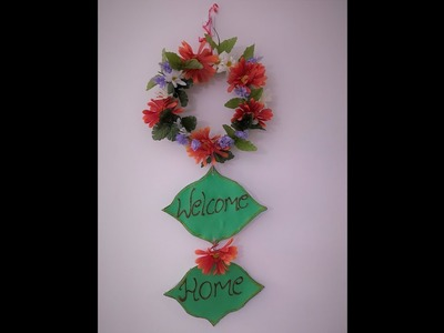 DIY | Welcome Home Decor | Craft Ideas