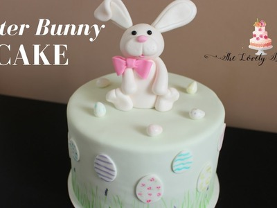 Easter Bunny Cake Tutorial Collab with Just Cake It!