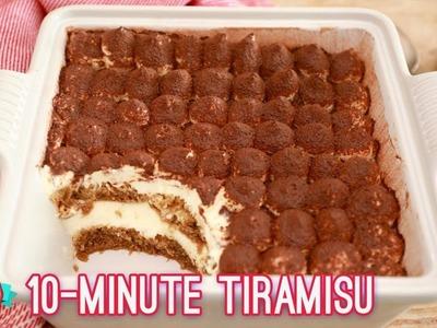 Easy 10 Minute Tiramisu | Bigger Bolder Baking