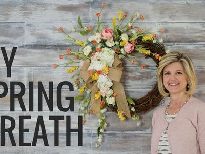Easy DIY Spring Wreath!