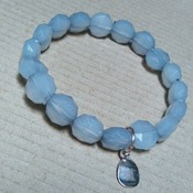 FACETED TRIO BEADED BRACELETS