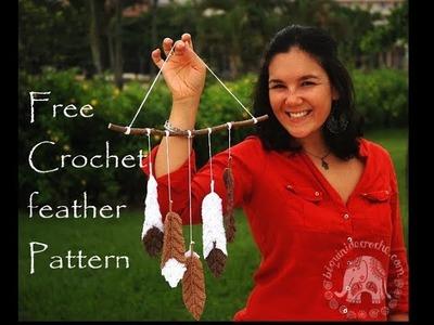 Free Crochet Feather Pattern   Roseanna Murray