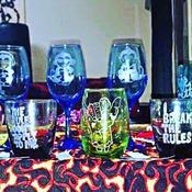Glassware Etching