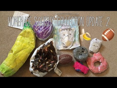 Homemade Squishy Collection Update 2  Ketchup DIY