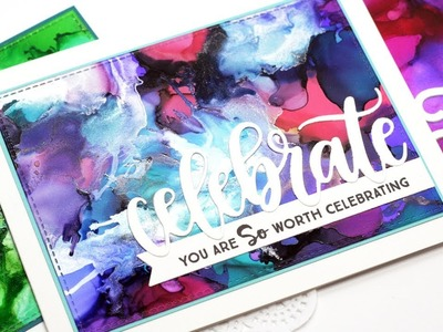 How to Create Alcohol Ink Backgrounds