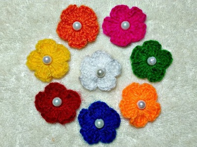How to Crochet A Beaded Flower