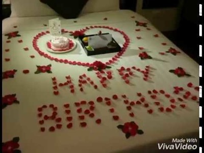 How to decorate room for birthday for boyfriend