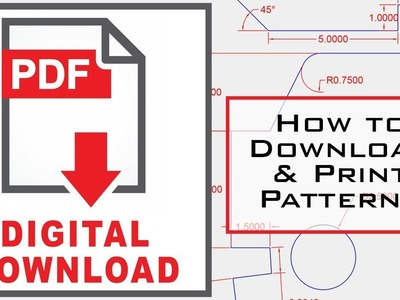 How To Download & Print Leather Craft Patterns