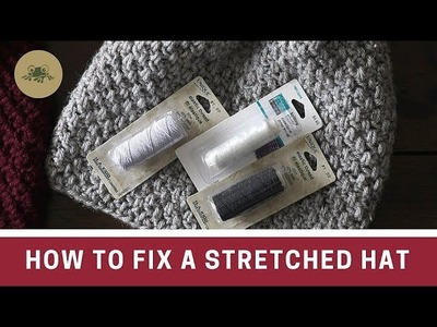 How to Fix a Stretched Hat