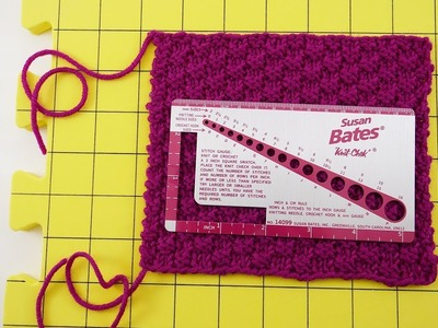 How to Make a Gauge Swatch (and why you should too)