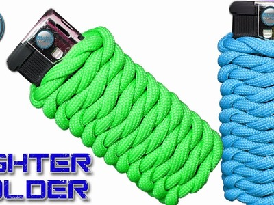 How to make a Paracord Lighter Holder - Paracord Lighter Wrap - Fast and Easy for Outdoors activity