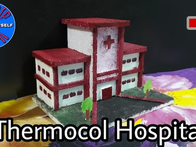 How To Make Thermocol House | DIY-Thermocol House | Thermocol Craft For School Project | Mini House