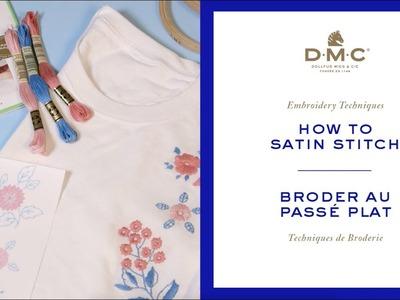 How to satin stitch (DIY Style)