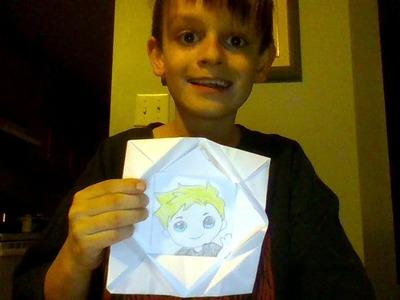 Joel's origami frame tutorial diy ????