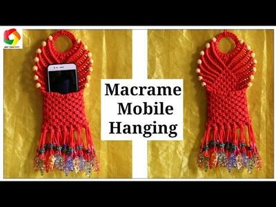 Macrame Mobile Wall Hanging Design #2