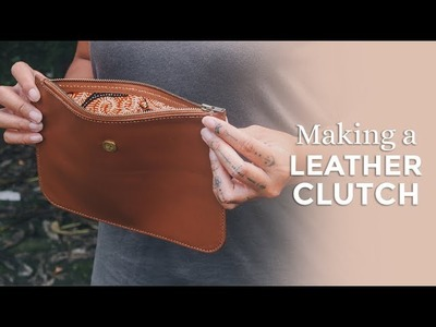 Making a Leather Clutch Purse [ Week 38.52 ]
