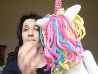 Marriner Yarn Haul and a finished Unicorn 21.02.18 Crochet vlog #smallyarncreators