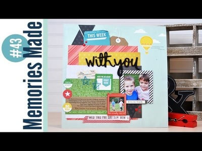 Memories Made #43 Scrapbooking Process Video: With You