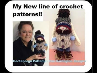 My New Collection of Crochet Patterns- Rosco B. Rabbit, Pattern Draw