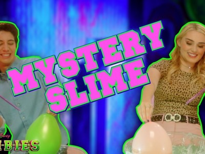 Mystery Slime Challenge  ???? | ZOMBIES | Disney Channel