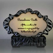 Personalized Pet Memorial Candle