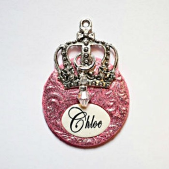 Princess Dog Tag