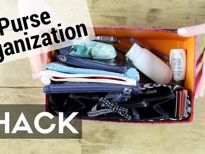 Purse Organization Tip