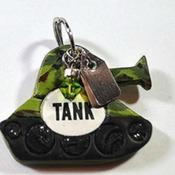 Tank Dog Tag