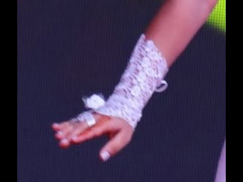 Very easy and beautiful bridal lace gloves DIY tutorial