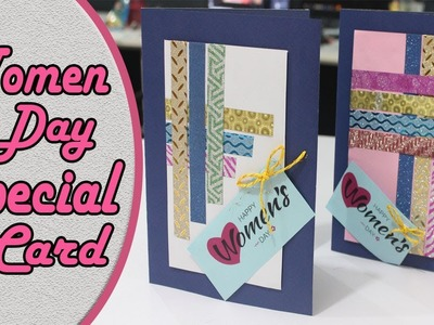 Women Day Special Card | How to Make Handmade Greeting Card | DIY