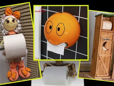 50 Toilet Paper Holder Ideas that will Get Your Decorating on a Roll