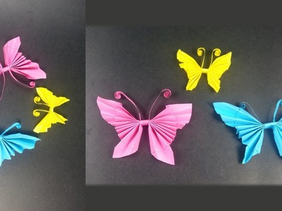 Art Valley | Origami Art | How to make an elegant paper butterfly in very simple way